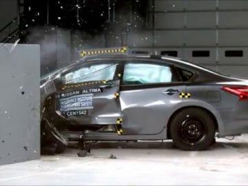 This is a Nasty Automotive Crash Test