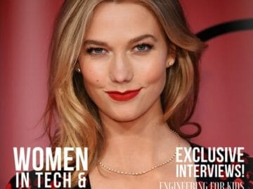 Karlie Kloss Front Cover Story: Women In Engineering and Technology
